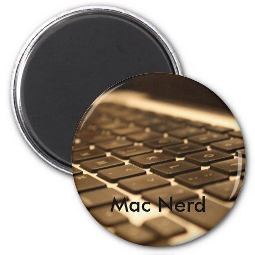 Teclado de ordenador del mac imán para frigorifico
