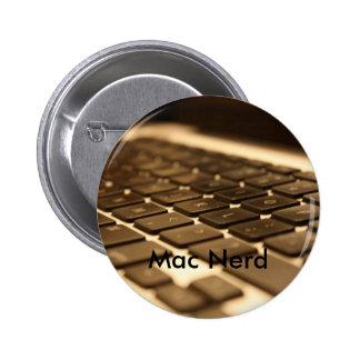 Teclado de ordenador del mac pins