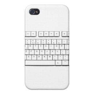 teclado de ordenador iPhone 4 protectores