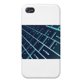 teclado de ordenador iPhone 4 carcasas