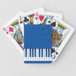 Teclado de piano - azul barajas