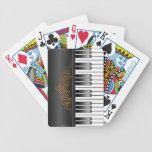 Teclado de piano baraja