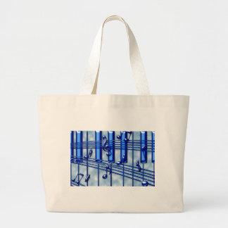 Teclado de piano bolsa tela grande