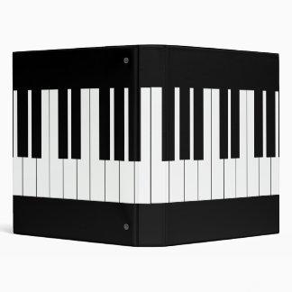 "Teclado de piano carpeta 1"""