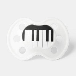 Teclado de piano chupetes para bebés