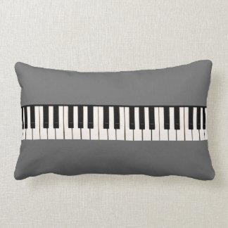 Teclado de piano cojines