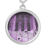 Teclado de piano colgante personalizado