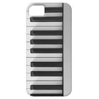 Teclado de piano de Digitaces iPhone 5 Carcasas