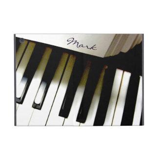 Teclado de piano de la música personalizado iPad mini cárcasas