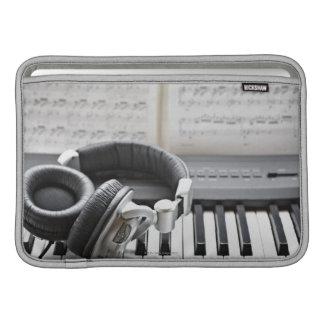 Teclado de piano eléctrico fundas macbook air