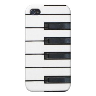 Teclado de piano iPhone 4 protectores