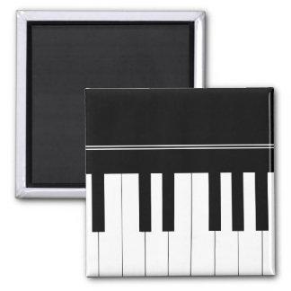 Teclado de piano iman de nevera