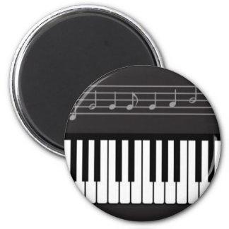 Teclado de piano iman para frigorífico