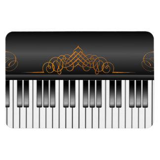 Teclado de piano imanes de vinilo