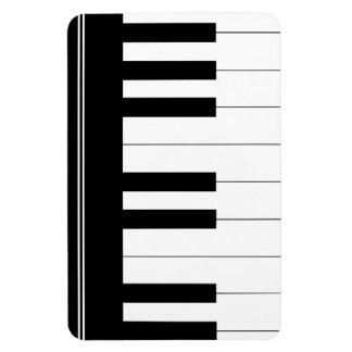 Teclado de piano iman