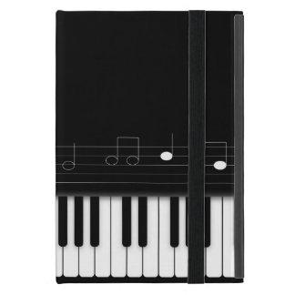 Teclado de piano iPad mini cárcasas