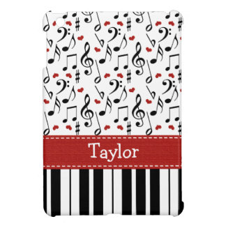 Teclado de piano iPad mini protector