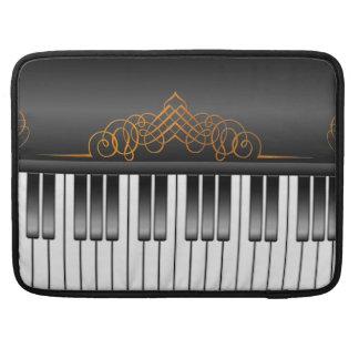 Teclado de piano funda para macbook pro