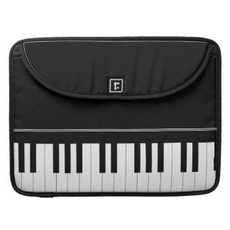 Teclado de piano funda macbook pro