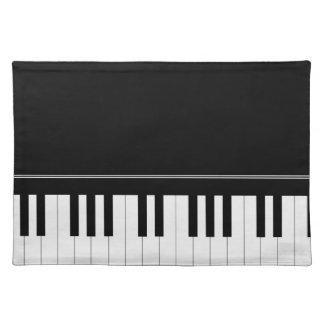 Teclado de piano mantel