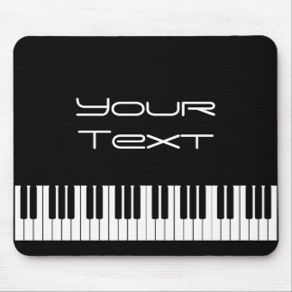 Teclado de piano Mousepad Tapete De Ratones