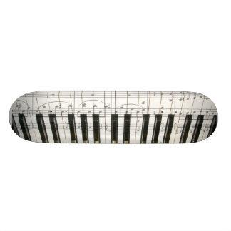 Teclado de piano patin