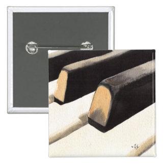 Teclado de piano pin cuadrada 5 cm