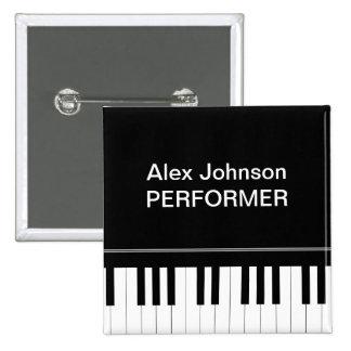 Teclado de piano pin cuadrado