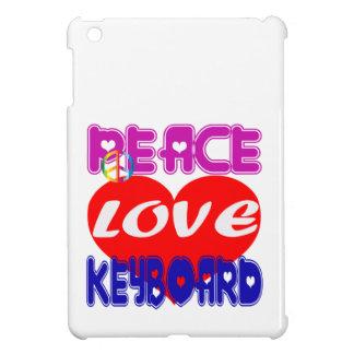 Teclado del amor de la paz