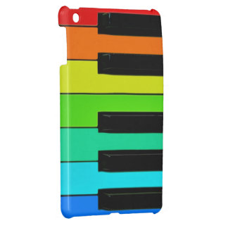 Teclado del arco iris iPad mini carcasa