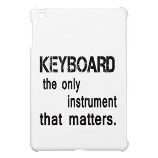 Teclado el único instrumento que importa