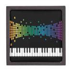 Teclado instrumental del piano de la música multic cajas de regalo de calidad