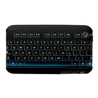 Teclado, llaves de ordenador, caso del dispositivo iPhone 3 Case-Mate protectores