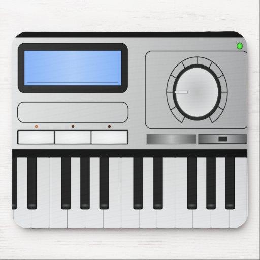 Teclado Mousepad del sintetizador de Digitaces
