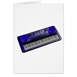 teclado png azul marino electrónico felicitación