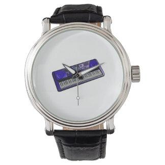 teclado .png azul marino electrónico relojes de mano