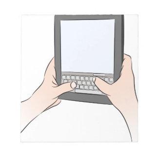 Teclado Texting del dispositivo de la tableta de Libretas Para Notas