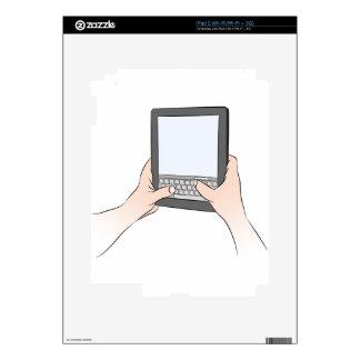 Teclado Texting del dispositivo de la tableta de iPad 2 Calcomanía