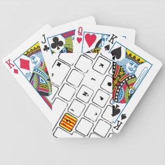 Teclat Ç Card Decks