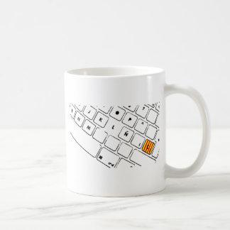 Teclat Ç Coffee Mugs