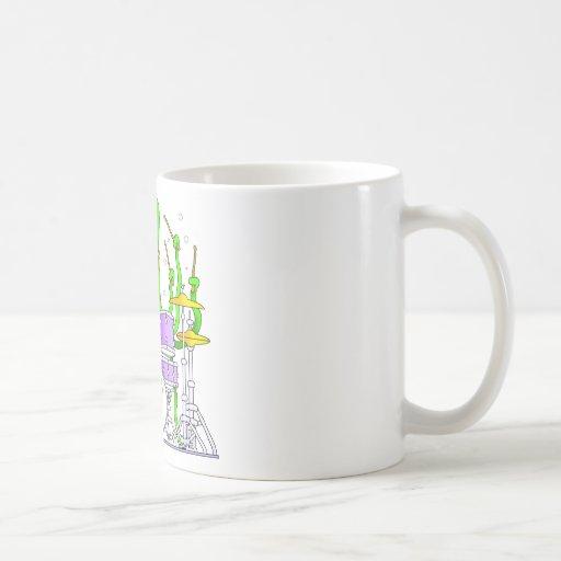 Teclear el pulpo taza clásica