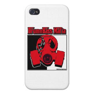 TECLEE el tambor y el bajo BAJOS de la mafia de la iPhone 4 Protector