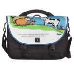 Tecleo animal bolsas de portatil