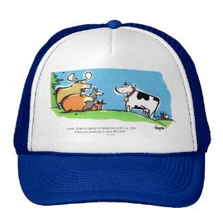 Tecleo animal gorra