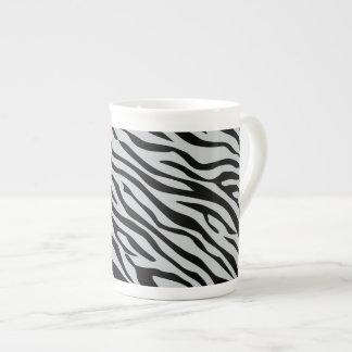 Tecleo mágico de las rayas de la cebra para taza de té