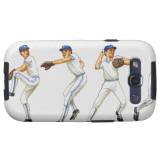 Técnica del cabeceo del béisbol, imagen múltiple galaxy s3 coberturas