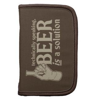 técnicamente hablando, la cerveza es una solución organizadores