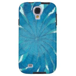 técnicas mixtas azules #1 de 5th-Throat Chakra Funda Galaxy S4