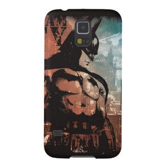 Técnicas mixtas de Batman de la ciudad de Arkham Fundas Para Galaxy S5