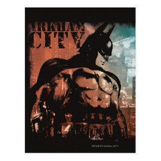 Técnicas mixtas de Batman de la ciudad de Arkham Postal